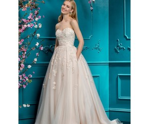 style, bride, and dress image