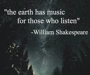 quotes, music, and william shakespeare image