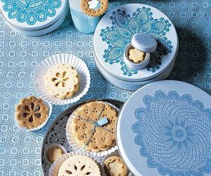 blue, cooking, and tea time image