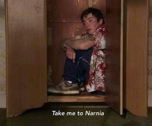 skins, chris, and narnia image
