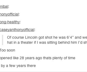 funny, history, and lincoln image