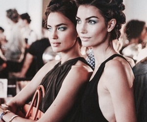 model, Lily Aldridge, and irina shayk image