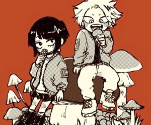 boku no hero academia, denki, and jiro image