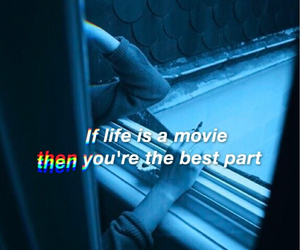 movie, tumblr, and words image