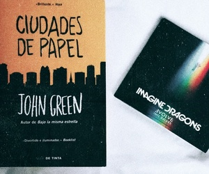 book, evolve, and paper towns image