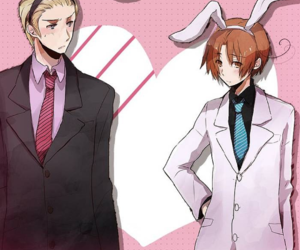 anime, bunnies, and italy image