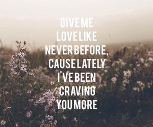 love, ed sheeran, and Lyrics image