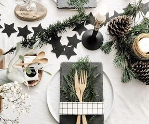 christmas, decoration, and food image