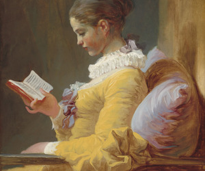 painting, art, and book image