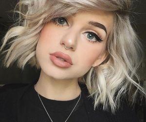 beauty, blond, and fashion image