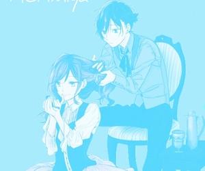 anime, blue, and shoujo image