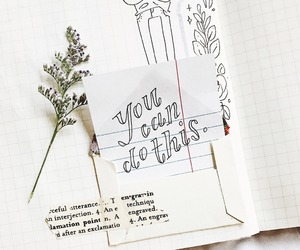 inspiration, note, and bujo image