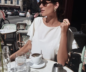 beauty, cafe, and coffee image