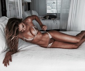 abs, fitness, and girl image