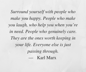 care, happy, and karl marx image
