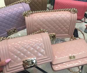 chanel, bag, and pink image