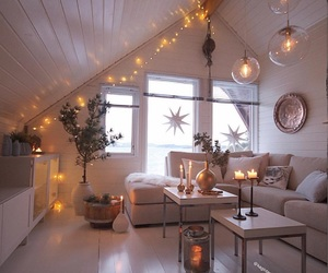lights, decor, and decoration image