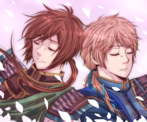 anime, dynasty warriors, and friends image