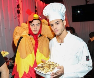 thanksgiving, ethan, and dolan image