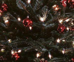winter, christmas decorations, and christmas image