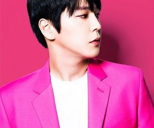 pink, himchan, and kpop image