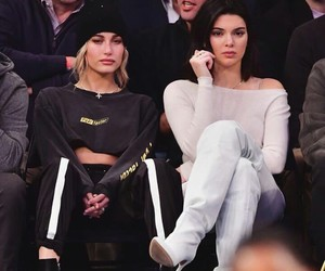 kendall jenner, hailey baldwin, and models image