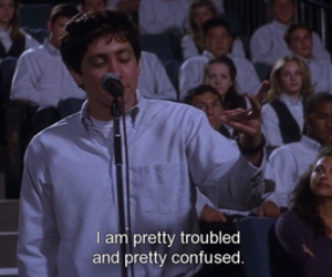 donnie darko, confused, and quotes image