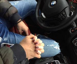 bmw, car, and couple goals image