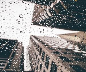 city, rain, and photography image