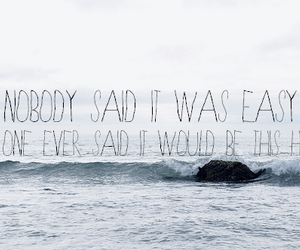 quote, coldplay, and text image