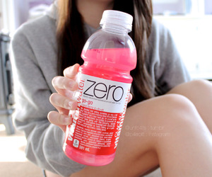 drink, vitamin water, and fashion image