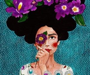 art, girl, and beautyful image