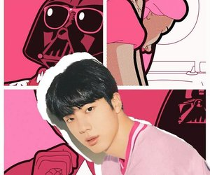 animation, jin, and kpop image