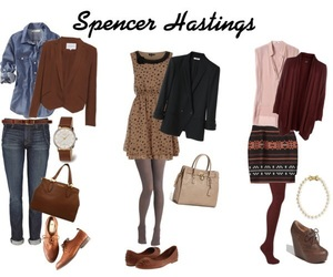 spencer hastings, outfit, and spencer image