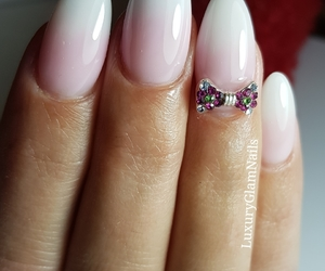 fashion, girls, and nailart image