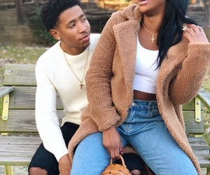 couple, ken, and black love image