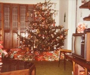 christmas, holidays, and retro image