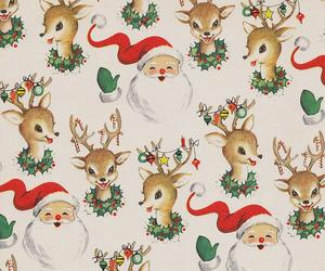 christmas, santa, and gift image