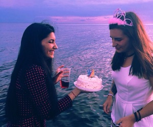 beach, birthday, and friendship image