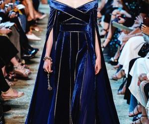 dress, fashion, and elie saab image