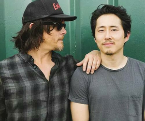 the walking dead, norman reedus, and glenn image