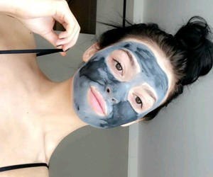 face mask, detox, and self care image
