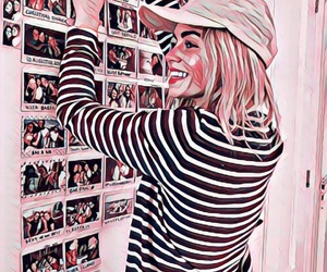 girl, hat, and memories image
