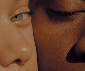 skin, eyes, and beauty image