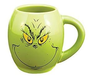 oval ceramic mug
