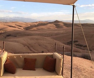 desert, travel, and view image