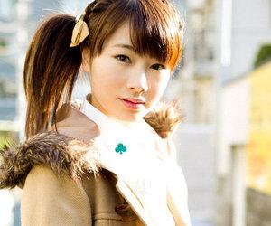 asian girls, japanese girls, and Beautiful Girls image