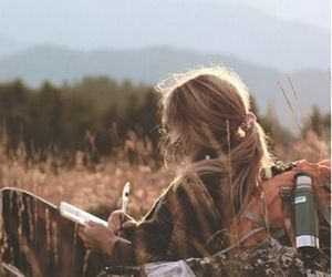 beauty, girls, and travel image