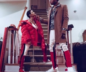 black love, teyana taylor, and issa relationship image
