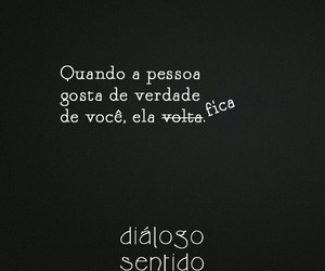 ficar, amor, and frases image
